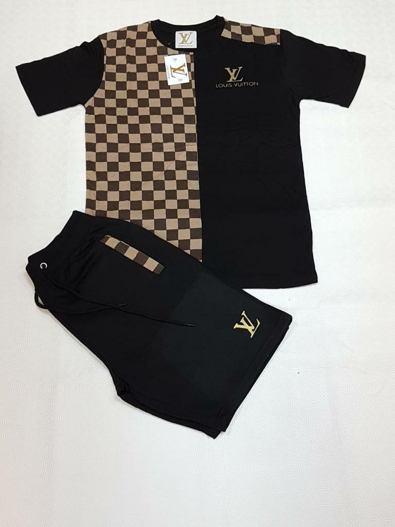 aa97c50b99d3 Men s Louis Vuitton Shirt and short sets...