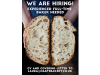 Experienced Baker Required - Harts Bakery, Bristol