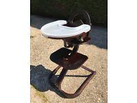 Svan adjustable wooden high chair