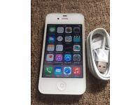 Apple iPhone 4s 16gb white UNLOCKED