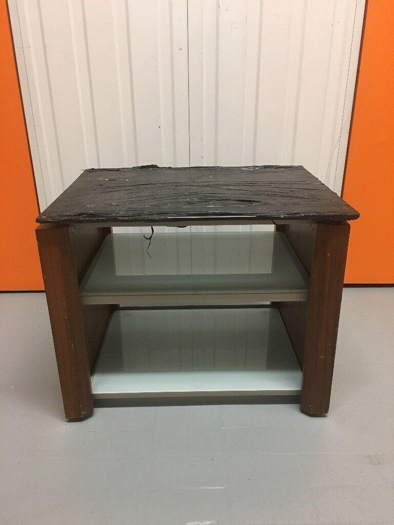 Alphason Tv Lcd Led Oled 4k Hifi Stand Wood Tempered Glass Walnut  # Hifi Furniture Wood High Quality