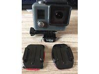 Original GoPro action camera. complete some mounts