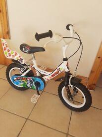 """12"""" kids bike"""