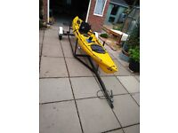 Ocean Kayak Prowler 13 with trailer and full set up