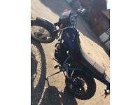 Yamaha 125cc road bike