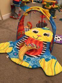 Lamaze monkey play mat