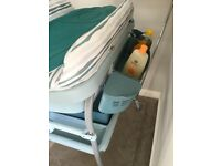 Chicco Cuddle and Bubble baby bath and changing table