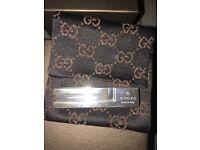100 % genuine Gucci silver tie pin