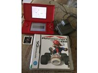 Ds light with games and charger
