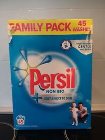 Persil Non Biological Powder opened 600 grams used