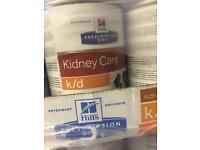 Hills Prescription Diet Kidney Care k/d dogs tray of 12 tins