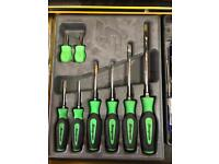 Snap on screwdriver set