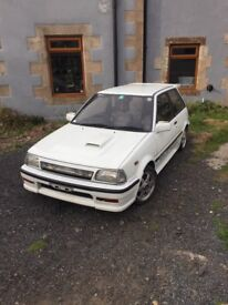 For sale rare Toyota Starlet Turbo ep71