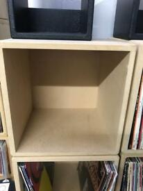 "12"" lp storage cubes"