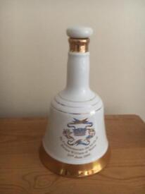 Commemorative porcelain decanter