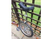 Unicycle in good working order