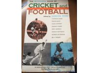 Vintage Gillette Book of Cricket and Football