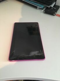 Amazon Fire tablet — Magenta Mint Condition