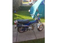 Monkey bike lifan 110 gy-3