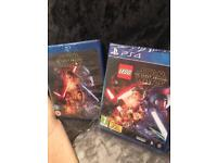 Brand new Star Wars PS4 Games