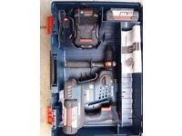 Bosch GBH 36 VF LI PLUS . 2 X 4.0Ah Batts, Case & adaptor