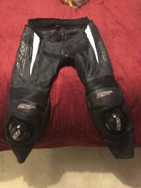 Rst blade leather trousers