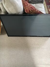 Samsung 51inch with wall mounting and stand