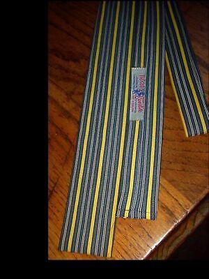 1950s Men's Ties, Bow Ties – Vintage, Skinny, Knit Vintage Cavalier Skinny 1950's Rockabilly Rat Pack ERA MENS Sq Bottom NECK TIE  $29.75 AT vintagedancer.com