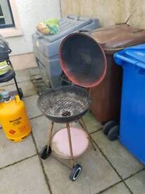 Bbq, Charcoal Barbecue