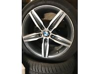 2 wheels for sale fits bmw 1 & 3series