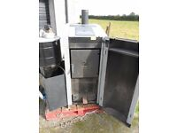 """""""FROLING"""" Wood chips heater- burner...For parts or repair...."""