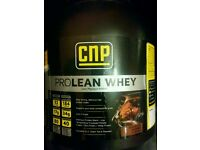 CNP Lean Whey 2kg protein supplement new