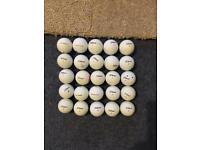 Titleist used golf balls