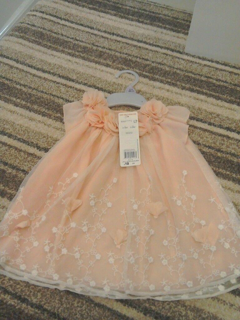 Brand new dress 3-6 months