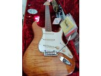 Fender USA Select Stratocaster, Exotic Flame Maple ,Rosewood fretboard