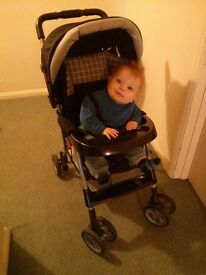 Great little pushchair with raincover