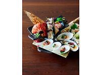 Waiter/waitress for fusion Japanese restaurant in Marylebone