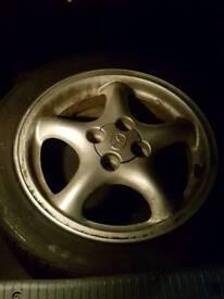 MX5 Masda Wheels (TYRES NO GOOD)