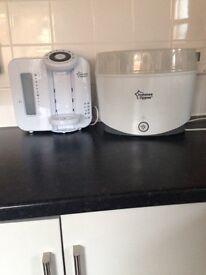 Perfect prep machine and steam steriliser get condition