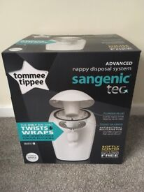 Tommee Tippee Sangenic Tec Nappy Bin Brand New In Box