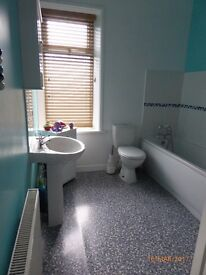 2 bed terrace house. boothtown, dinning kitchen with utility room, large enclosed rear yard