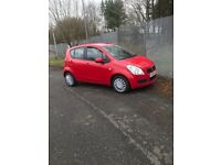 Suzuki splash 2011 1.0 liter only £30 Road tax