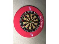 Dartboard with Red Surround