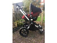 Bugaboo Cameleon 3 in Red With Maxi Cosi Pebble Car Seat