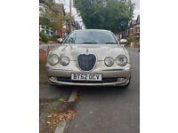 Jaguar, S-TYPE, Saloon, 2003, 3 Litre, Automatic, Gold