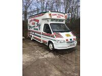 Transit Ice Cream Van, Carpigiani Machine,