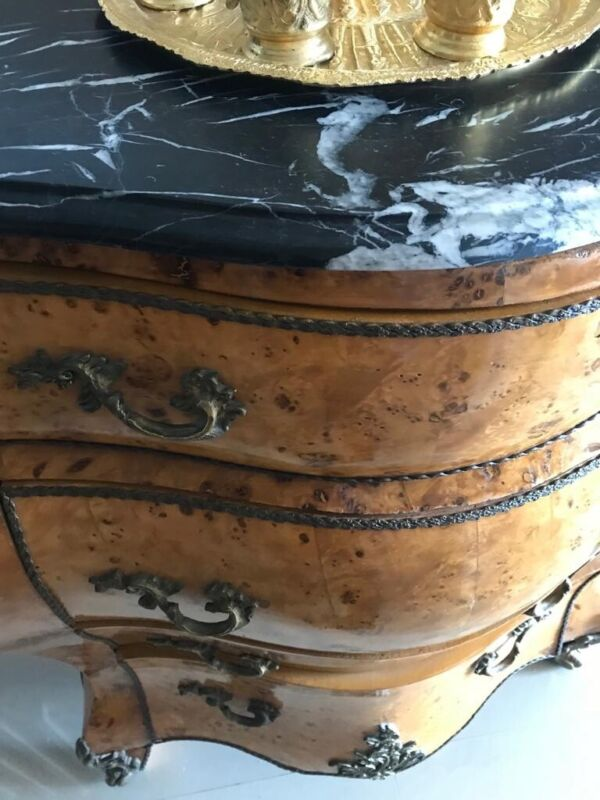 Vintage French Chest Of Drawers