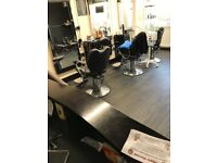 Busy barber shop for sale
