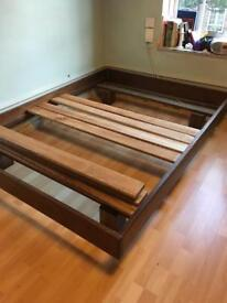 Doble bed and mattress £50