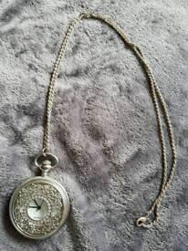 Watch fashion necklace